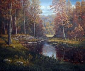 Forest Brook Landscape