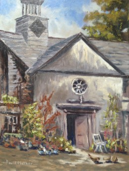 Kelly house, oil painting by David Mather