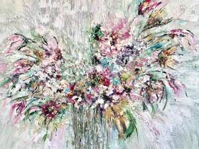 Wild flower Original and unique texture art