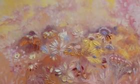Apricot Sunflowers