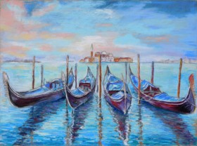 Gondola Reflections