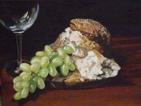 Main picture of Grapes and Bread
