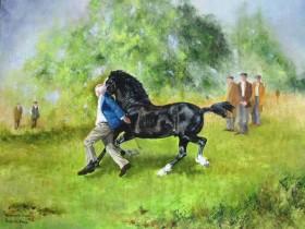 Gwerthu'r Cobyn (Running the Cobs)