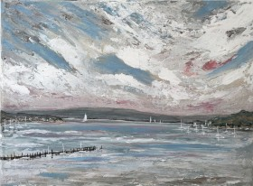 Evening Hill in Poole harbour