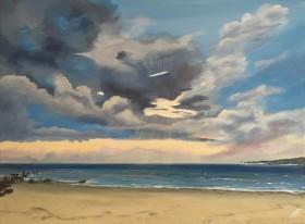 Sundays over Studland Beach