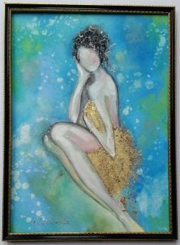 Lady in the bath 2/3