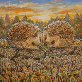 Hedgehogs full view