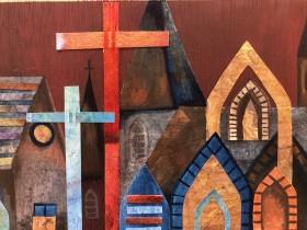 Church:- mixed Media