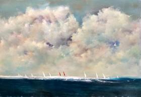 Red Sails Painted Skies