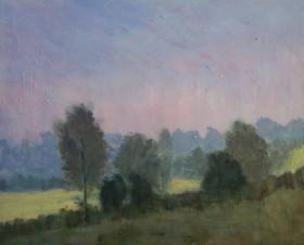 Misty Early Light, Spring