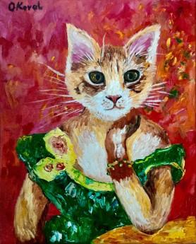 Cat La Madame Jeanne Samary