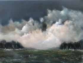 landscape,clouds,fields,cornwall,Turner
