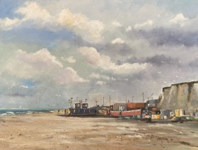 Fishing Vessels at Hastings