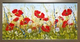 Joyous Poppies Landscape