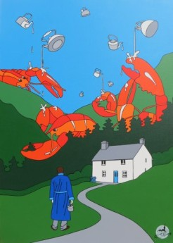 Invasion of the Giant Killer Lobsters
