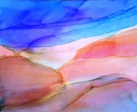Abstract Beach ( Malibu)seascape landscape
