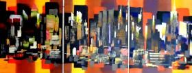 New York City Manhattan Abstract 367