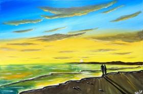Our Sunset Beach Walk 3