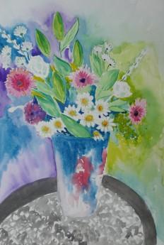 A Vase of Lovely Flowers