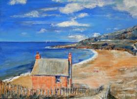 Cliff Path and Beach House