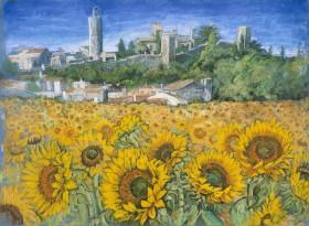 Main view of Sunflower Fields