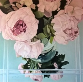 Peonies In October (large canvas)