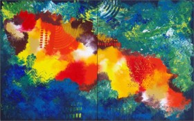Contrast 3 (Diptych)