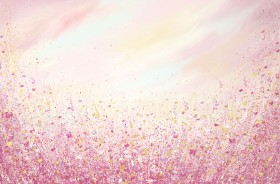 Textured Floral Painting