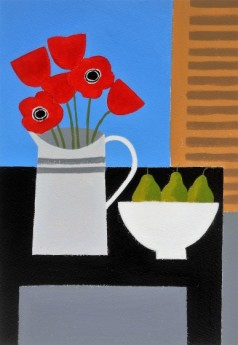 Poppies and Pears 2