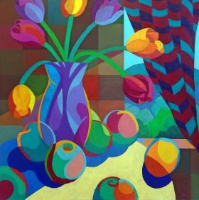 Still Life: Fruit & Flowers
