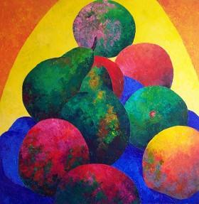 Pyramid Of Fruit