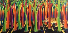 The Rainbow Indian Tiger Jungle