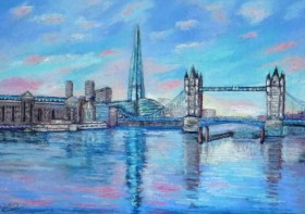 Reflections on the Thames
