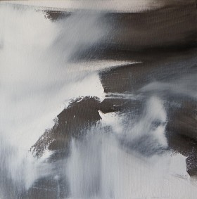 Abstraction in Monochrome study 10
