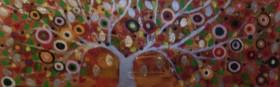 The Tutti Frutti silver Tree