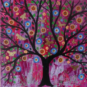 Colourful Butterfly Tree