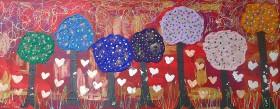 Hearts among Tutti Frutti Trees