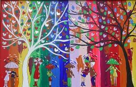 Yin and Yang Tree