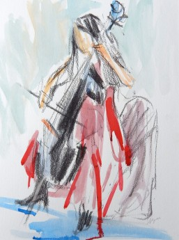 Cello Sketch: one
