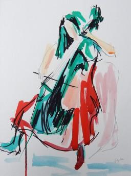 Cello Sketch: two