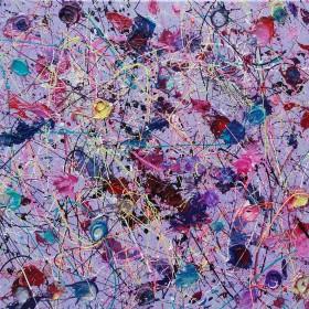 Original Framed Abstract Art By Simon Slater