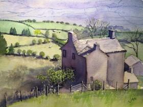 cottage hills fields spring