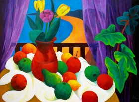 Still Life with Tulips