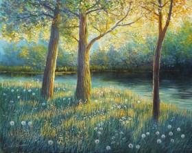 Landscape Summer River