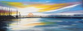 Sunrise over the Quay