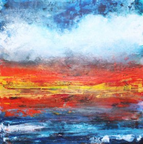 seascape painting on canvas