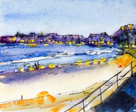 Tenby Harbour Dawn