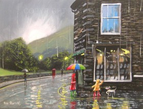 The Book Shop On A Rainy Day