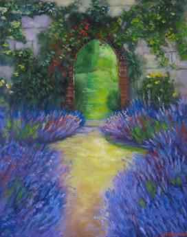 The Lavender Garden, full frontal image