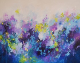 The Silent Thoughts - Large Abstract Painting
